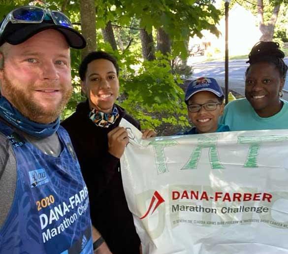 Dana-Farber Marathon Challenge runners