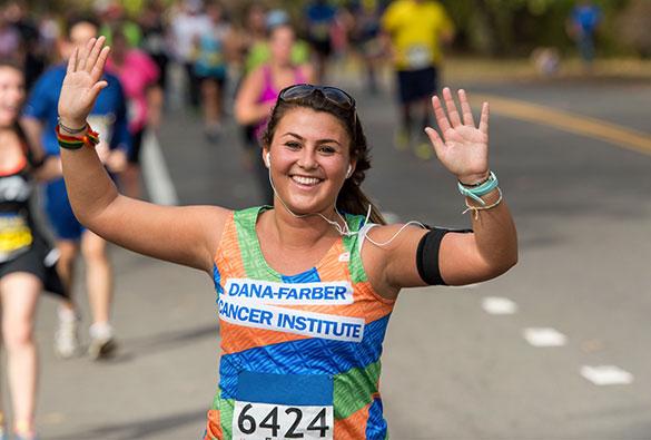 B.A.A. 5K® participant on the Dana-Farber team