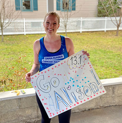 Run for Dana-Farber participant