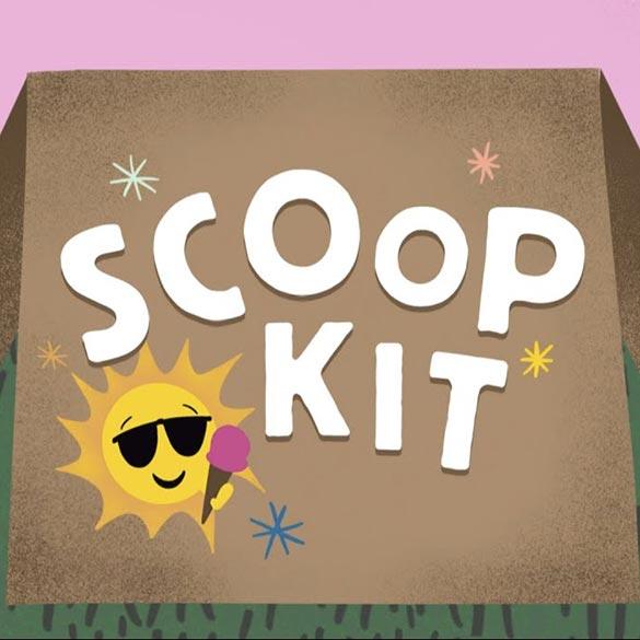 how to pick-up Scoop ice cream kits