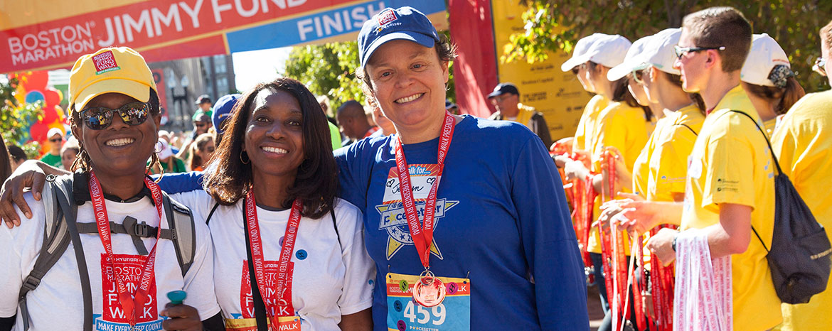 Information on 2018 Boston Marathon Jimmy Fund Walk teams
