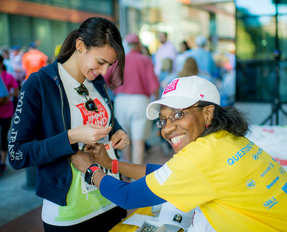 2018 Boston Marathon Jimmy Fund Walk logistics include information on the route and refueling stations