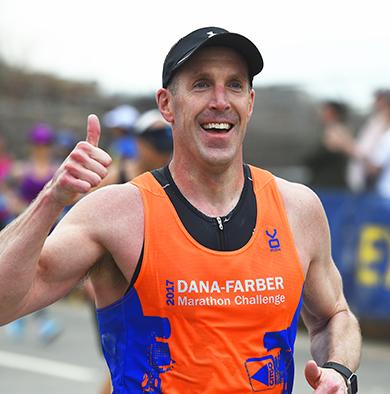 Run for Dana-Farber participant