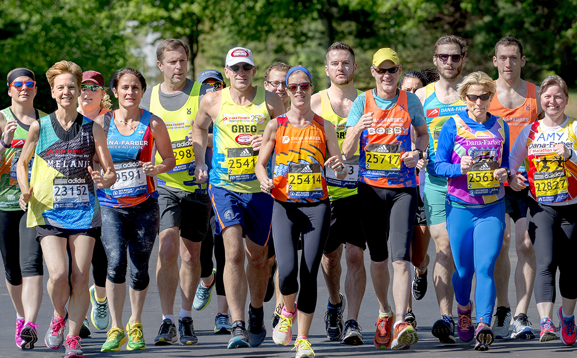 Participants of the Run for Dana-Farber Running Programs community