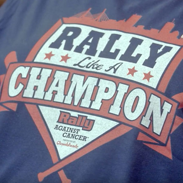 RAC Rally Like a Champion t-shirt