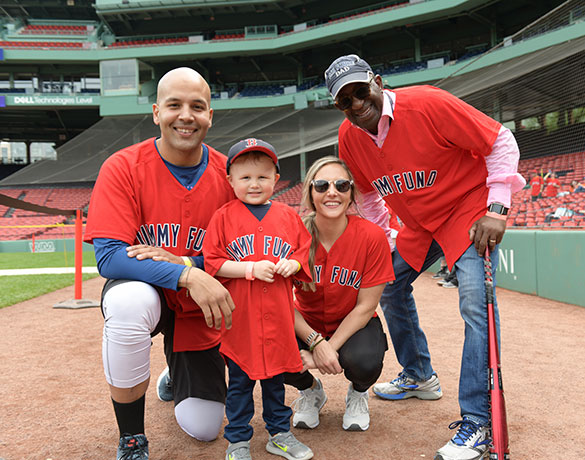 John Hancock Fenway Fantasy Day Sponsor a Patient program