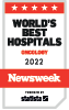 Newsweek World's Best Hospital badge
