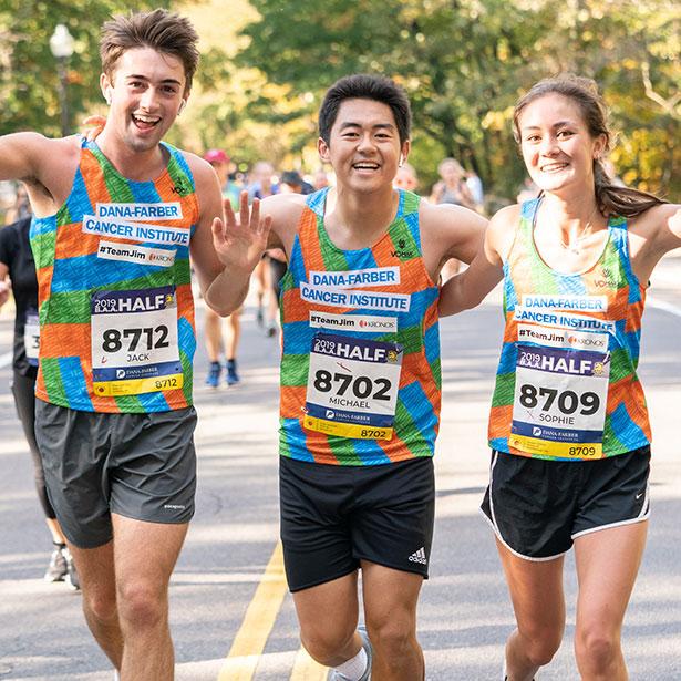 Previous B.A.A. Half Marathon® participants on the course