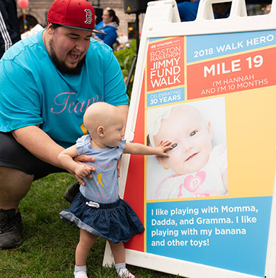 Jimmy Fund Walk Pacesetters help fight cancer
