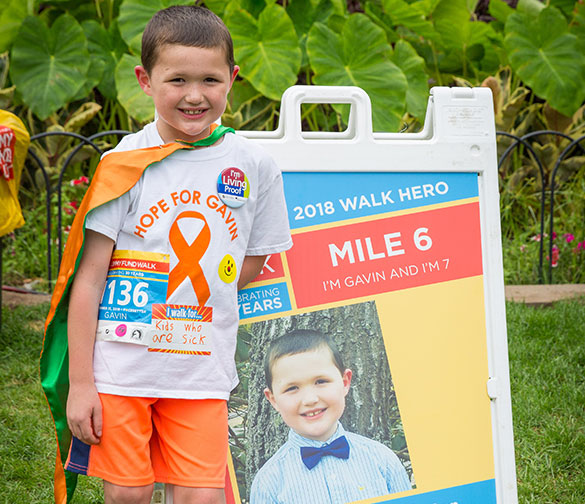 Boston Marathon Jimmy Fund Walk teams can partner with Walk Heroes from the Patient Partner program