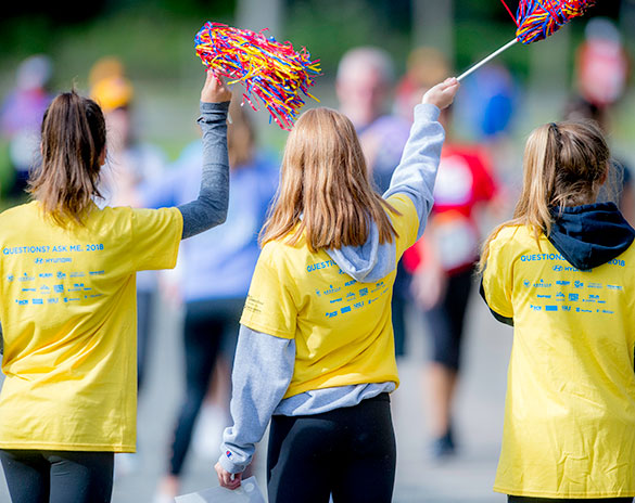 Volunteer for the Boston Marathon Jimmy Fund Walk