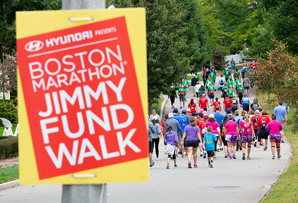 Learn to train for the Boston Marathon Jimmy Fund Walk whether you're doing a marathon or a 5K