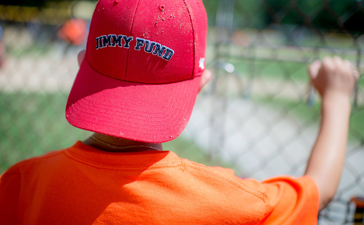 Jimmy Fund Little League player ready to take the baseball field
