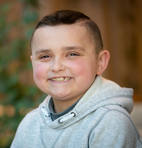 Jimmy Fund Little League Designated Hitter Grady
