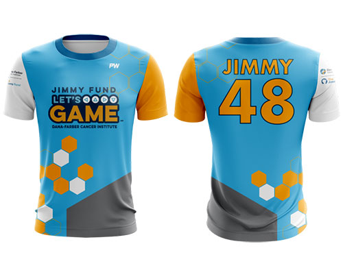 Jimmy Fund Let's Game jersey