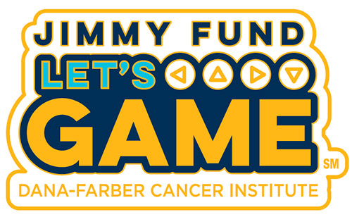 Jimmy Fund Let's Game pin