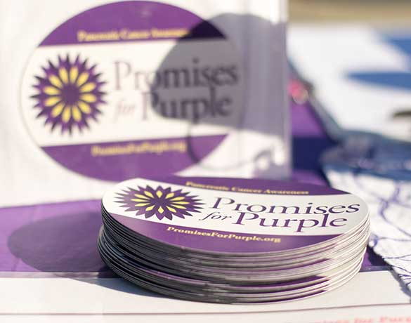 Promises for Purple stickers