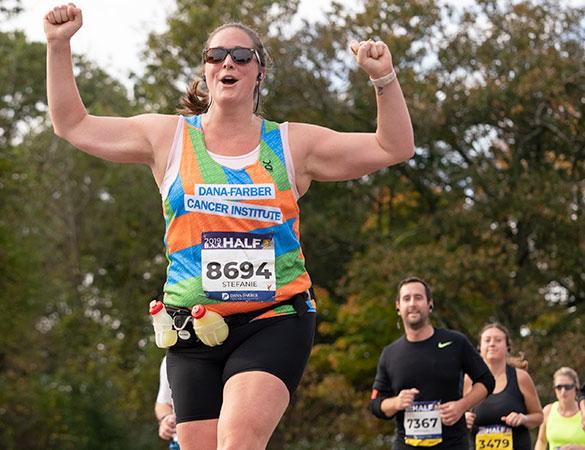 B.A.A. Half Marathon® participants help raise money to cure cancer