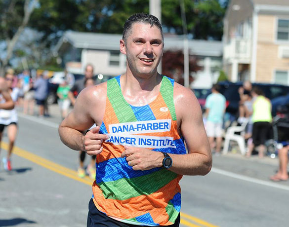 A New Balance Falmouth Road Race runner helps raise money to cure cancer