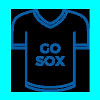 Go Sox jersey icon