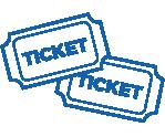 Raffle tickets icon