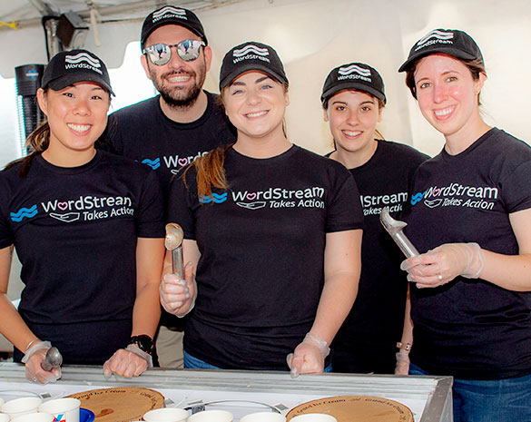 Volunteers scoop more than 50 ice cream flavors at Scooper Bowl