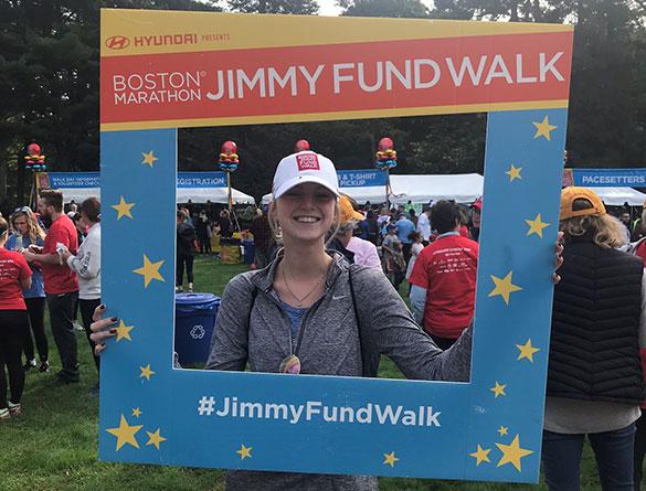 Boston Marathon Jimmy Fund Walk Dana-Farber employee team