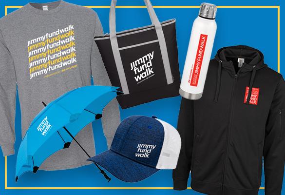 Jimmy Fund Walk swag items