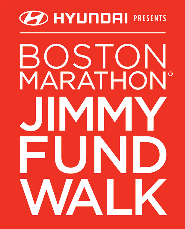 2019 Boston Marathon Jimmy Fund Walk presented by Hyundai logo