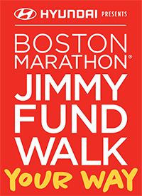 Boston Marathon Jimmy Fund Walk: Your Way presented by Hyundai logo