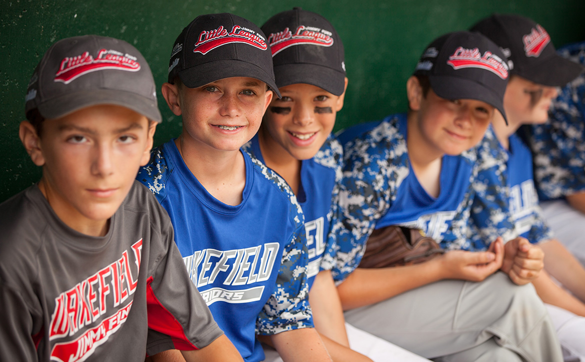 Jimmy Fund Little League players ready to take the baseball field
