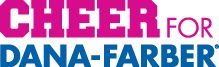 Cheer for Dana-Farber logo