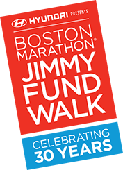 2018 Boston Marathon Jimmy Fund Walk presented by Hyundai logo