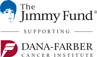 The Jimmy Fund supporting Dana-Farber Cancer Institute logo