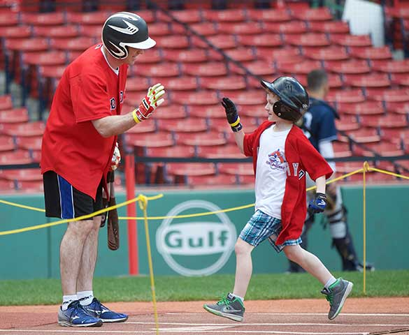 Collect gifts to participate in Fenway Fantasy Day
