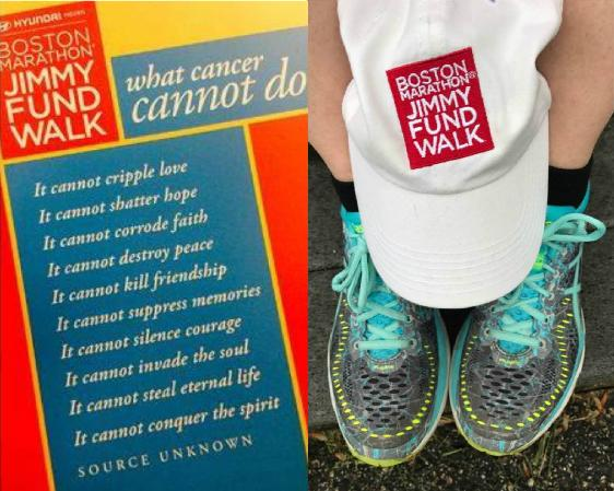You Don't Have To Be A Doctor To Cure Cancer ... You Can Be A Walker!