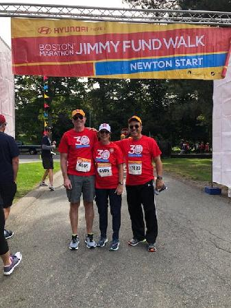 Support Our Fight! (Picture Shown: Dave Potty, Stephanie & Angelo Scangas at the 2018 walk)