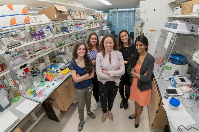 Tothova lab is on a mission to conquer cancer!