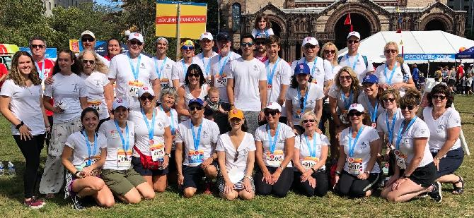 2019 Zebra Divas Team Walked to Conquer NET Cancer