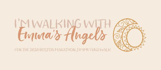 Walking for Brain Cancer research with Roger Dawley and Emma's Angels <3