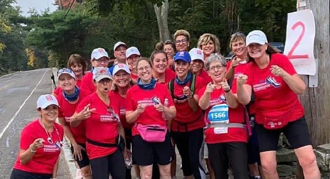 Dana-Farber and the Jimmy Fund walk 2020