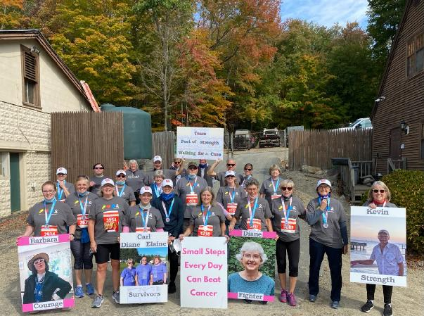 Conquering Cancer One Step At A Time--Team Feet of Strength